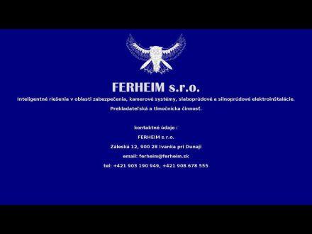 www.ferheim.sk