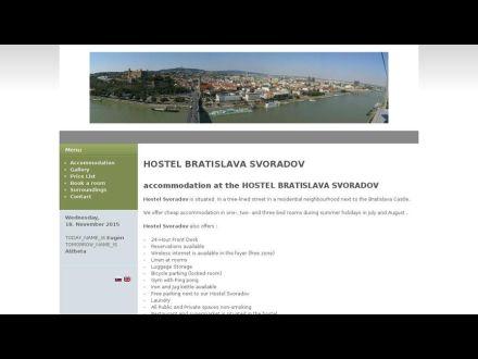 www.hostelbratislavasvoradov.sk