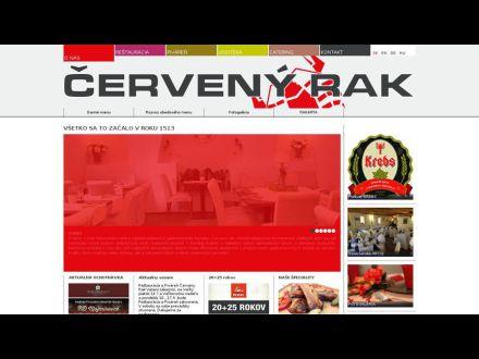 www.cervenyrak.sk