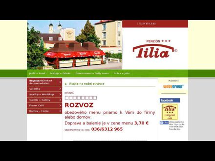 www.penziontilia.sk