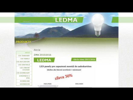 www.ledma.sk
