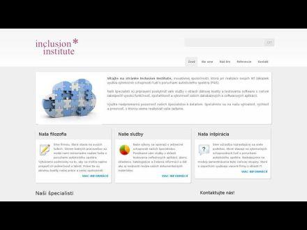 www.inclusion-institute.sk
