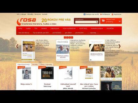 www.rosa.sk