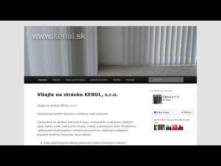 www.kenul.sk