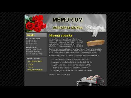 www.memorium.sk