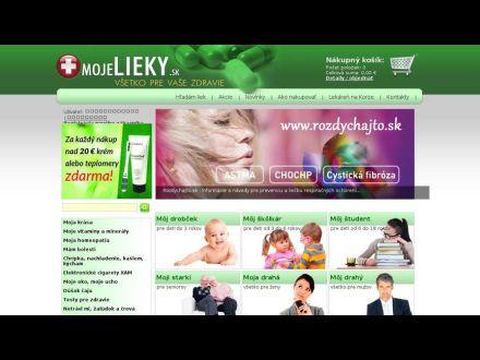 www.mojelieky.sk