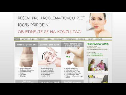 www.hederaspaclinic.cz