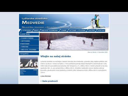 www.skimedvedie.sk
