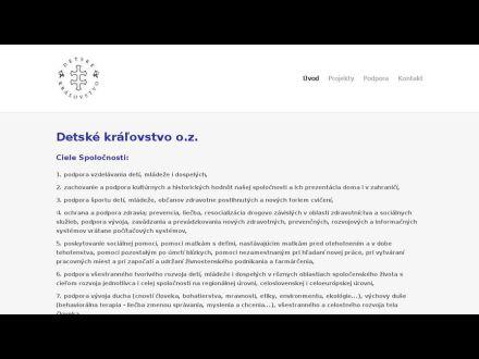 www.detskekralovstvo.peruno.sk