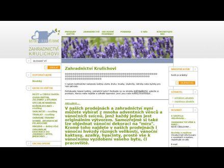 www.zahradnictvikrulichovi.cz
