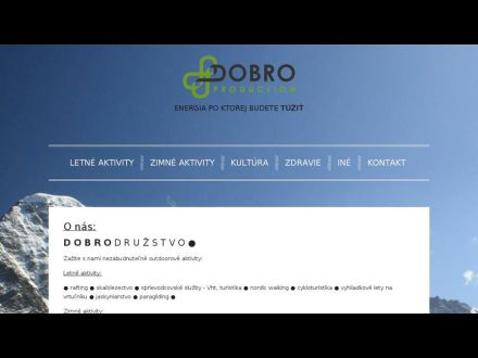 www.dobroproduction.sk