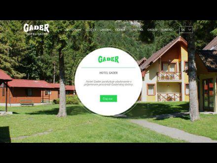 www.hotelgader.sk