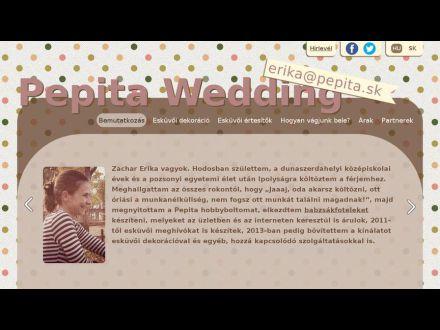 www.pepitawedding.sk
