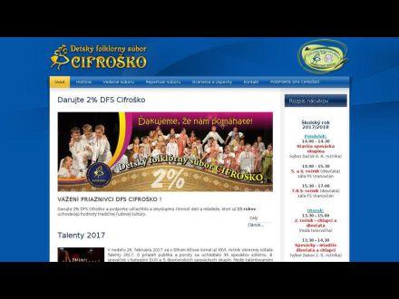 www.cifrosko.sk