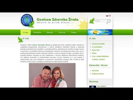 www.centrumzdravehozivota.sk