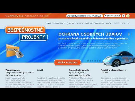 www.bezpecnostneprojekty.sk