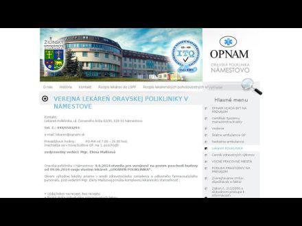 www.opnam.sk/sk/LEKAREN-POLIKLINIKA