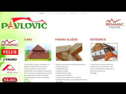 www.pavlovicstrechy.sk