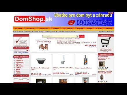 www.domshop.sk