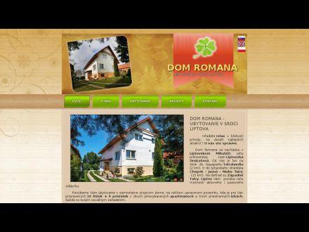 www.domromana.sk