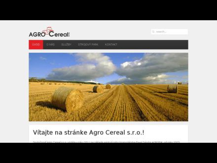 www.agrocereal.sk