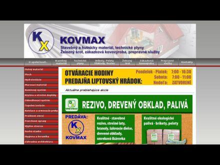 www.kovmax.sk