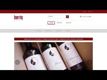 www.barriq.sk