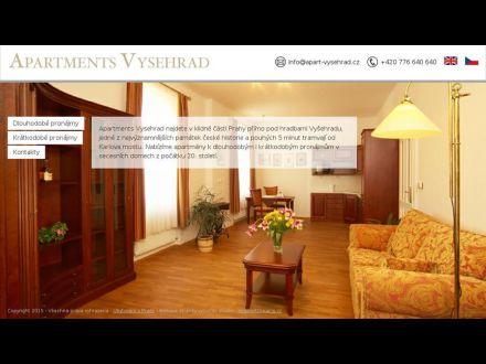 www.apart-vysehrad.cz