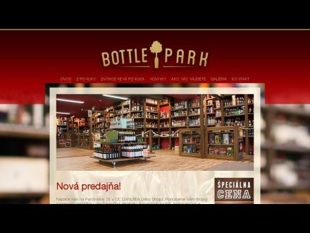 www.bottlepark.sk