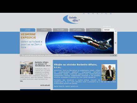 www.barbette.sk