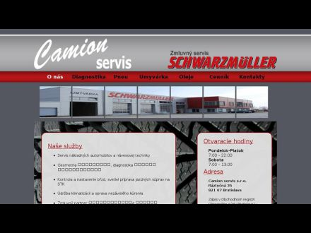 www.camionservis.sk