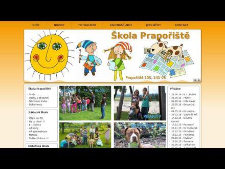 www.skolapraporiste.cz