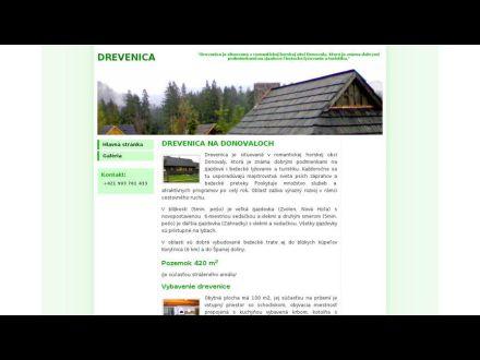 www.drevenice.sk