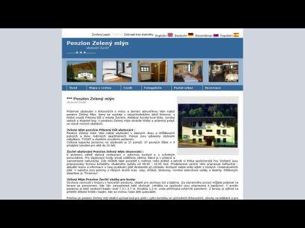 www.penzion-zeleny-mlyn.cs-ubytovani.com/zacler.htm