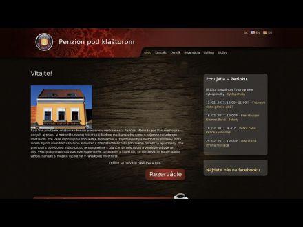 www.penzionpezinok.sk