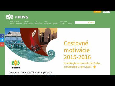 www.tienssk.sk