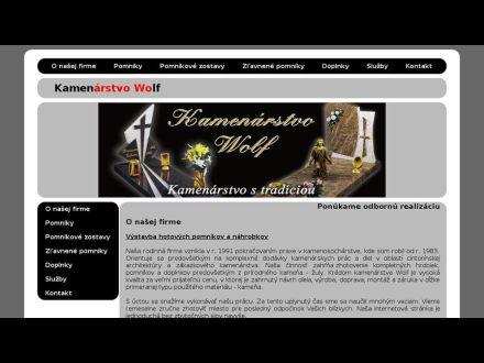 www.kamenarstvowolf.sk