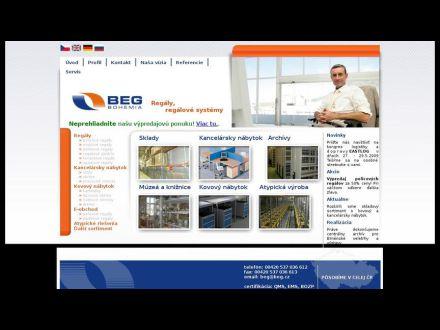 www.regaly-beg.sk