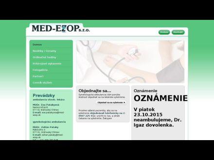 www.med-ezop.sk