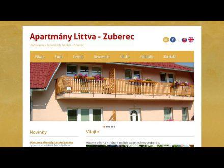 www.apartmanyzuberec.sk