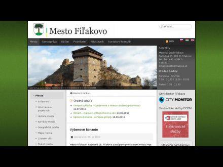 www.filakovo.sk