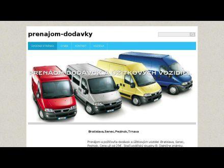 www.prenajom-dodavky.webnode.sk