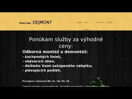 www.dejmont.webnode.sk