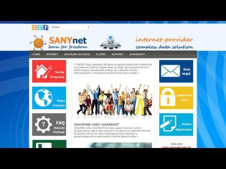 www.sanynet.sk