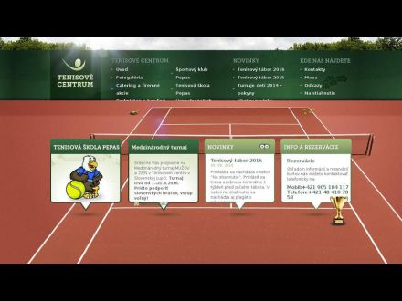 www.tenisovecentrum.sk