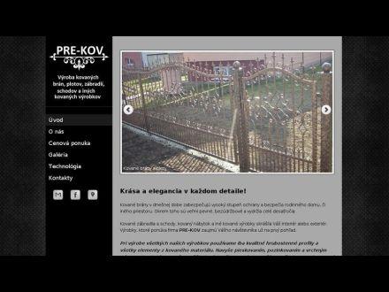 www.pre-kov.sk