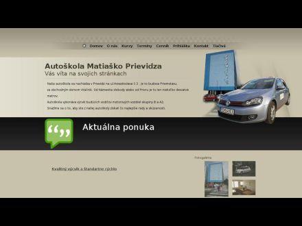 www.autoskolamatiasko.sk