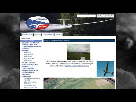 www.aeroklub-sabinov.com