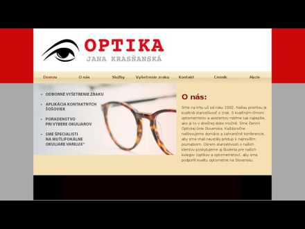 www.optikakrasnanska.sk