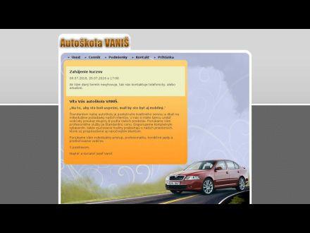 www.autoskolavanis.sk/